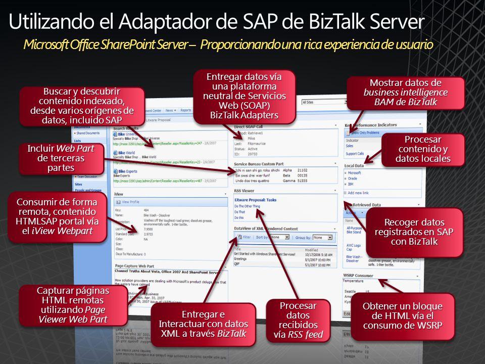 Interfaces avanzados de uso para SAP - Silverlight CRM Demo