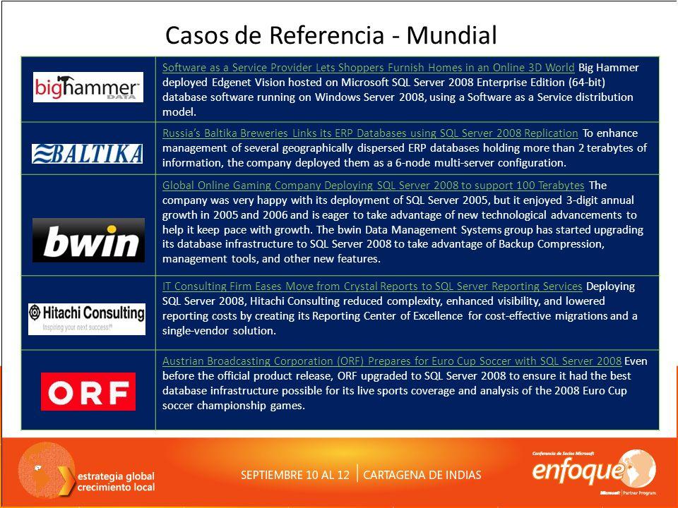 Recursos – Readiness Técnico MVA http://www.mslatam.com/latam/technet/mva/ Maratones Demos SQL http://www.microsoft.com/latam/technet/maratonsql/ Webcast Serie 24 (Windows + SQL) http://www.microsoft.com/latam/technet/video/24webcasts.aspx