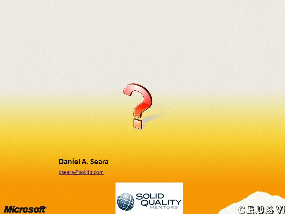 Daniel A. Seara dseara@solidq.com