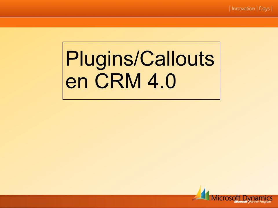 Plugins/Callouts en CRM 4.0
