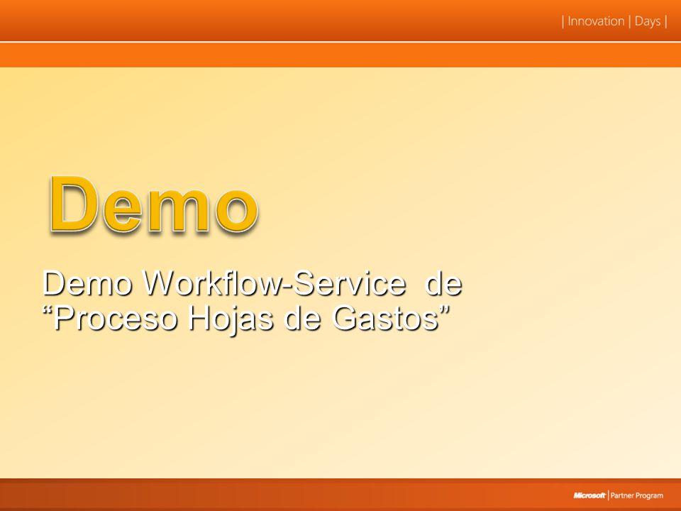 Demo Workflow-Service de Proceso Hojas de Gastos