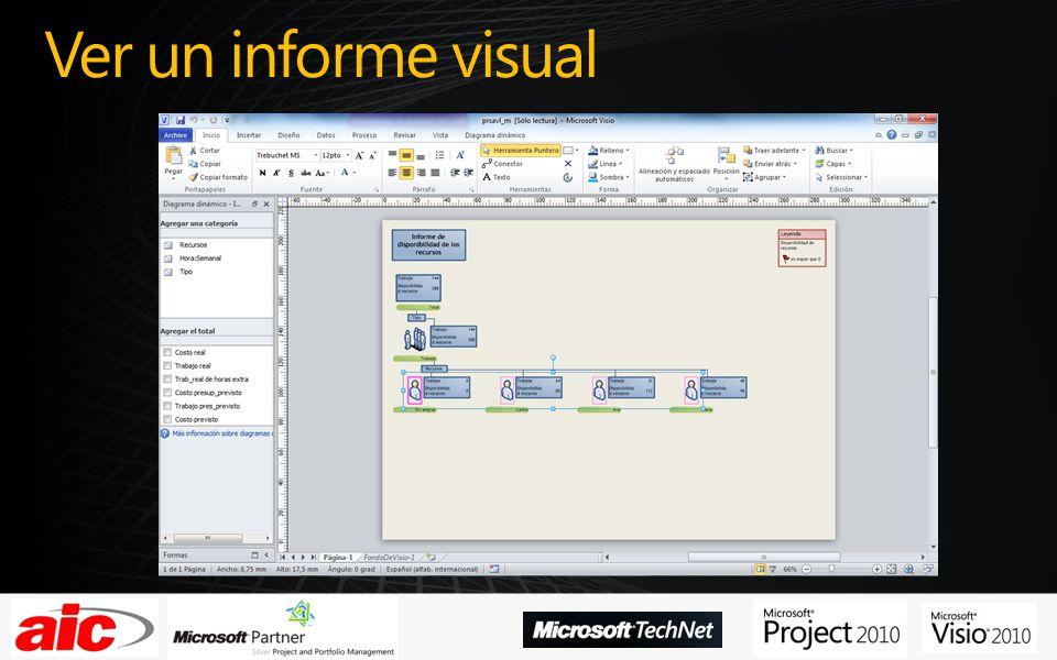 Ver un informe visual