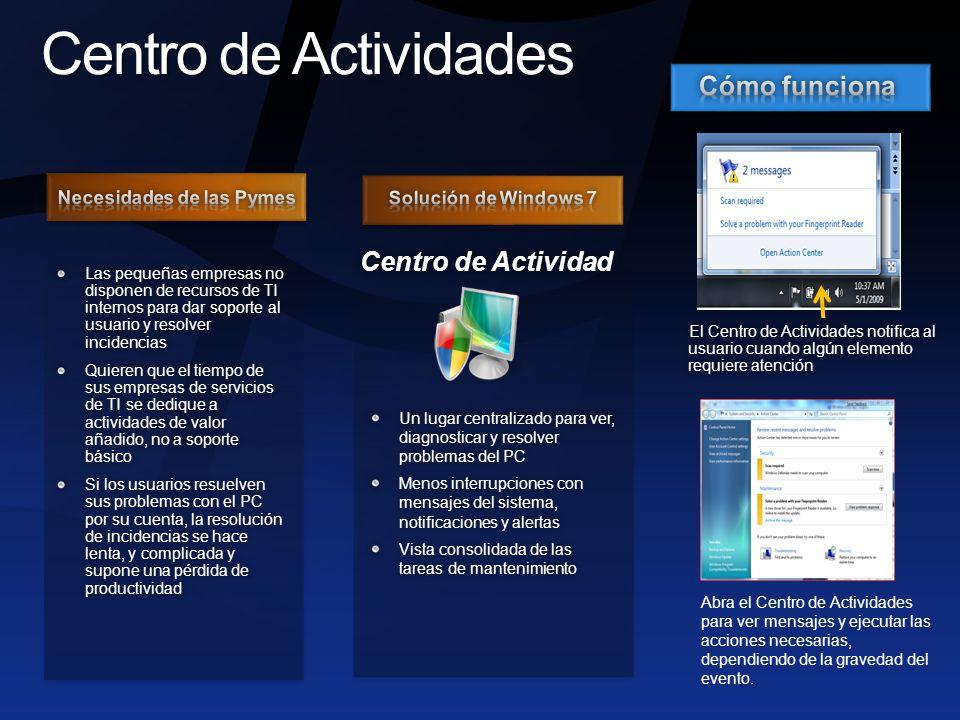 Backup avanzado Nuevo en Windows 7 Disponible en Ed.