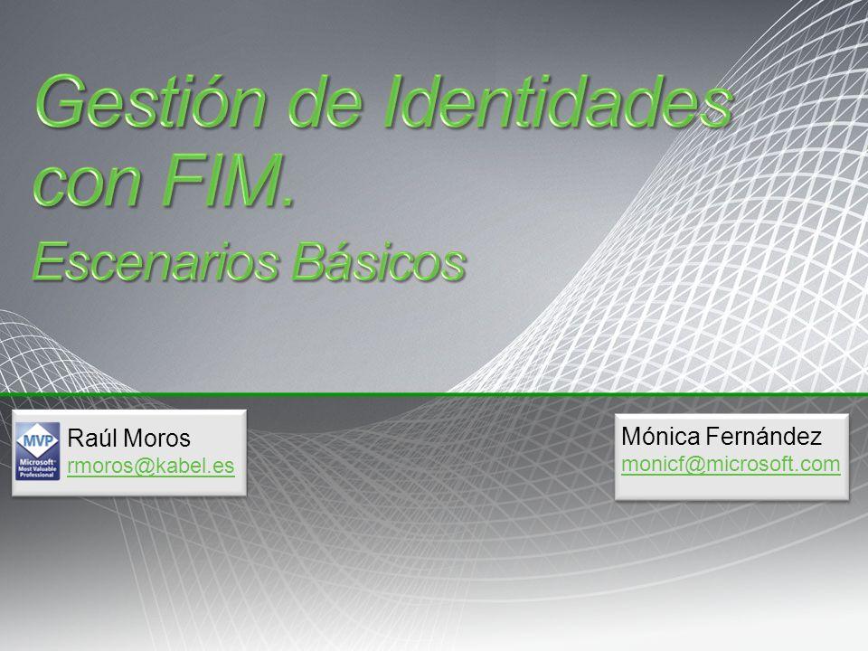 Mónica Fernández monicf@microsoft.com Raúl Moros rmoros@kabel.es