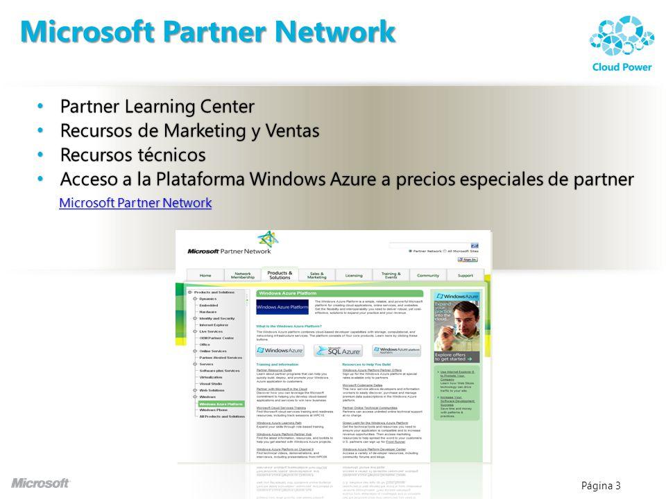 Página 4 Microsoft Partner Network : Especialidades MPN El logo está asociado a la especialización del partner Las especializaciones desaparecen y se han incluido 13 nuevas competencias, en total 29 + Small Business Gold Silver Subscription Community