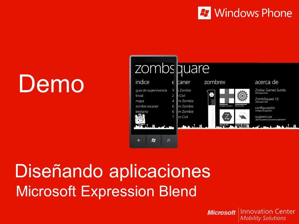 Demo Diseñando aplicaciones Microsoft Expression Blend