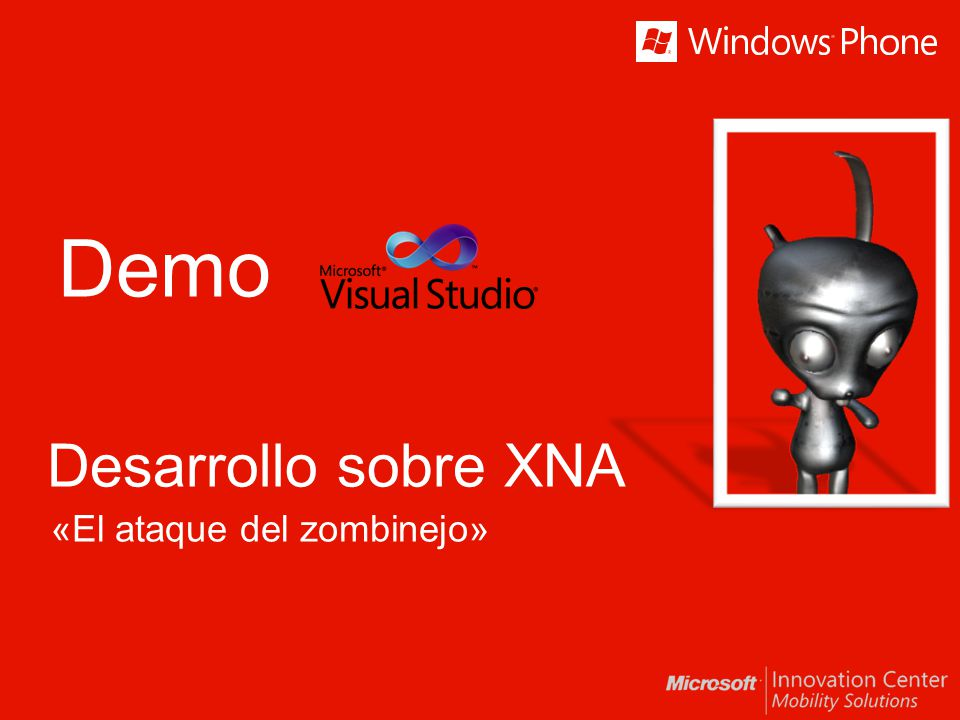 Demo «El ataque del zombinejo» Desarrollo sobre XNA