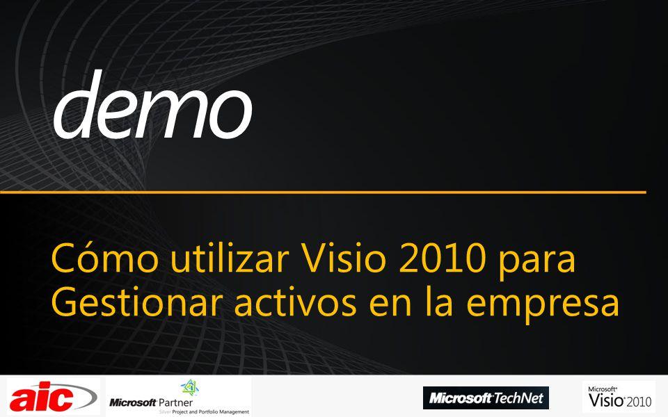 Cómo utilizar Visio 2010 para Gestionar activos en la empresa