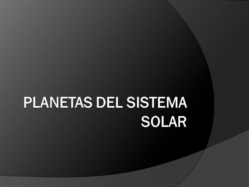 Los planetas interiores están compuestos, principalmente, por rocas y metales.