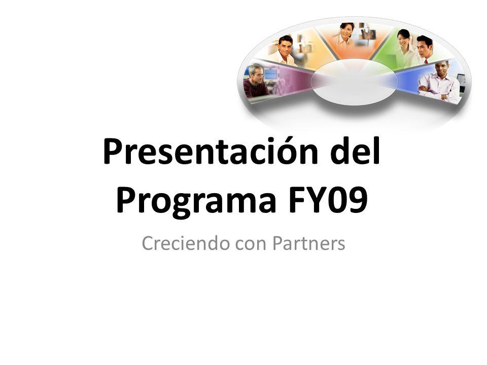 Presentación del Programa FY09 Creciendo con Partners