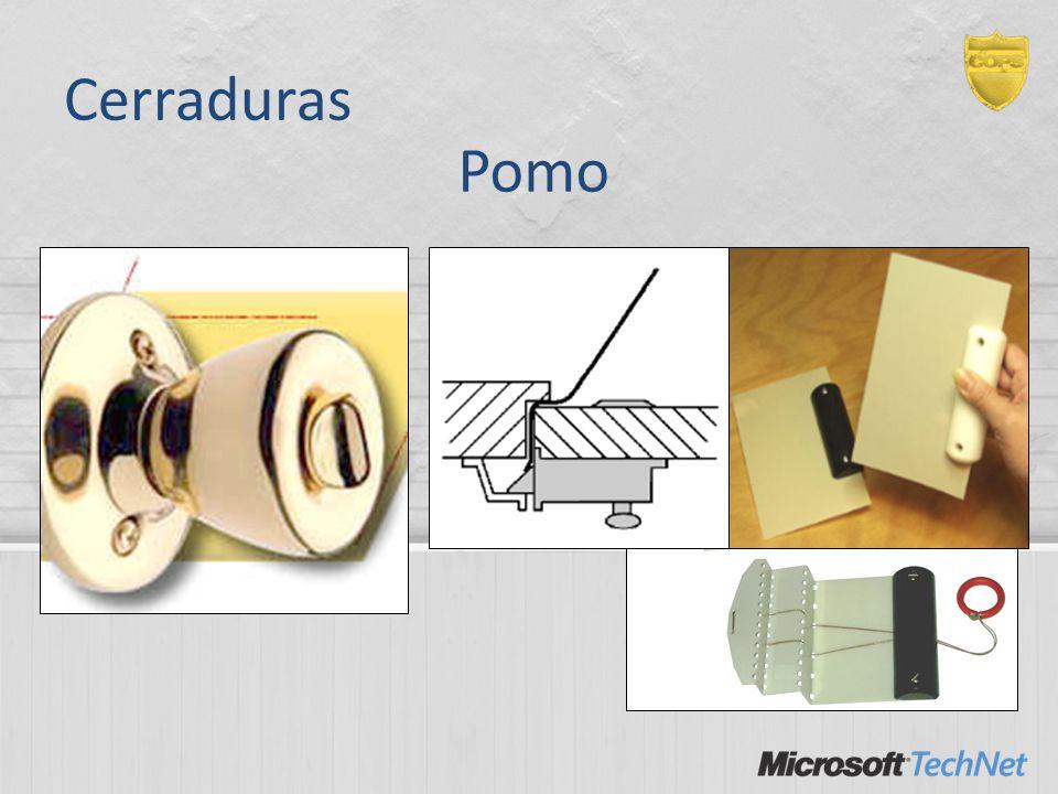 Cerraduras Pomo