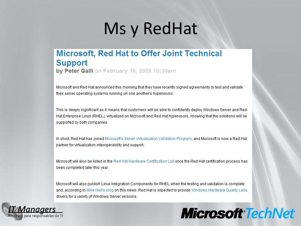 Ms y RedHat