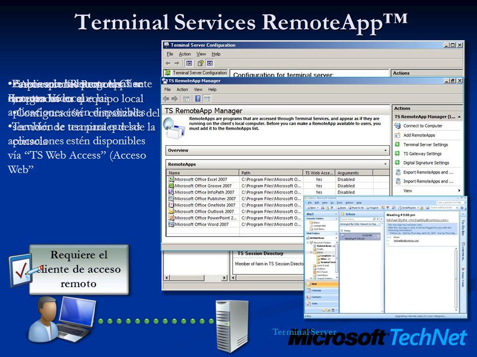 Ventajas Despliegue de aplicaciones sencillo y rápido Despliegue de aplicaciones sencillo y rápido Gestión Central de aplicaciones de Negocio.