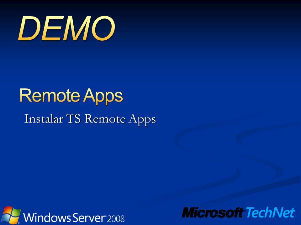 Instalar TS Remote Apps