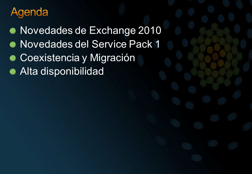 Prerrequisitos de instalación Exchange 2010