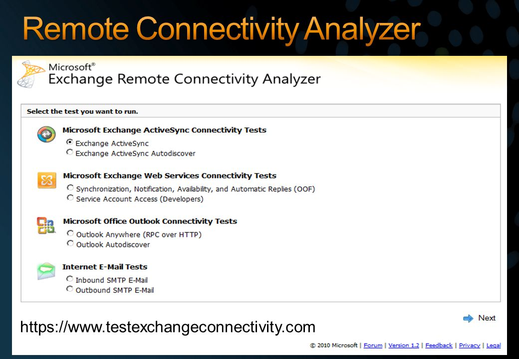 https://www.testexchangeconnectivity.com
