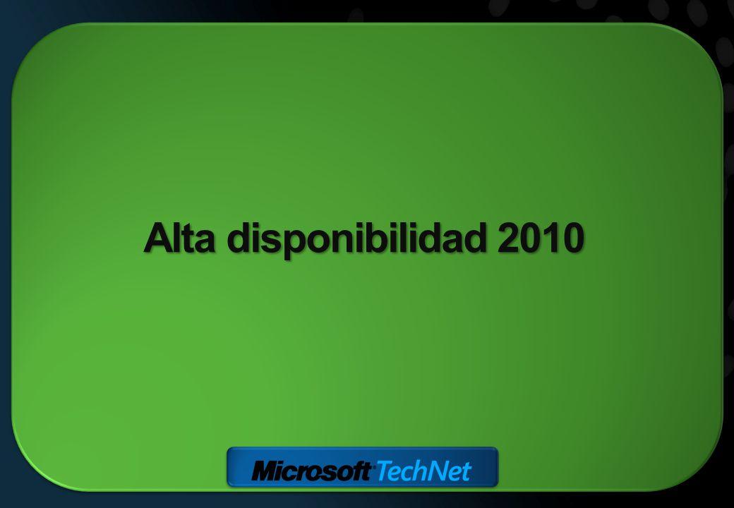 Alta disponibilidad 2010