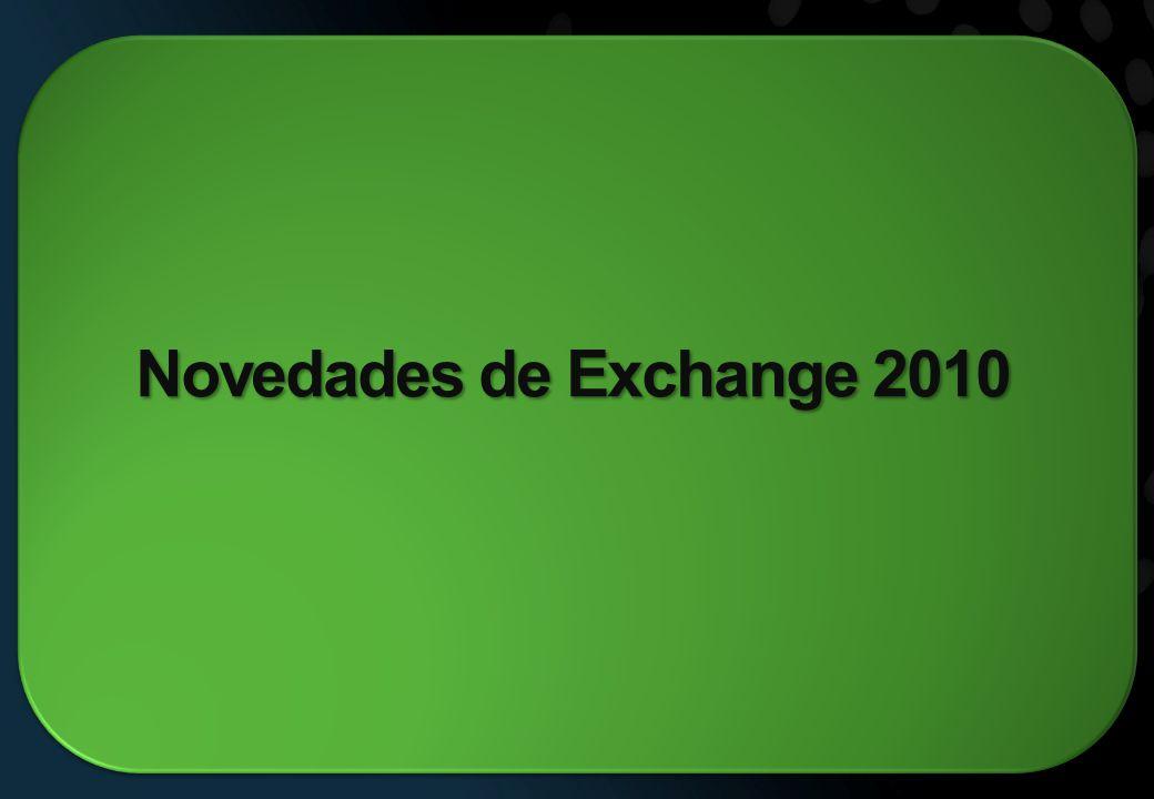 Novedades de Exchange 2010