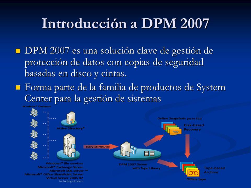 DEMO Despliegue de agente DPM, Configuración del Grupo de Protección y Creación de copia de seguridad