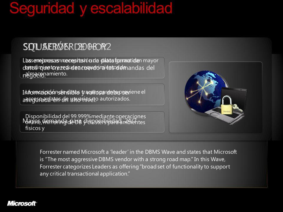 Seguridad y escalabilidad