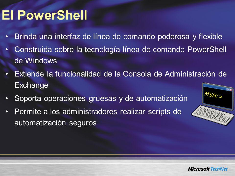 Administración del rol de Client Access Server