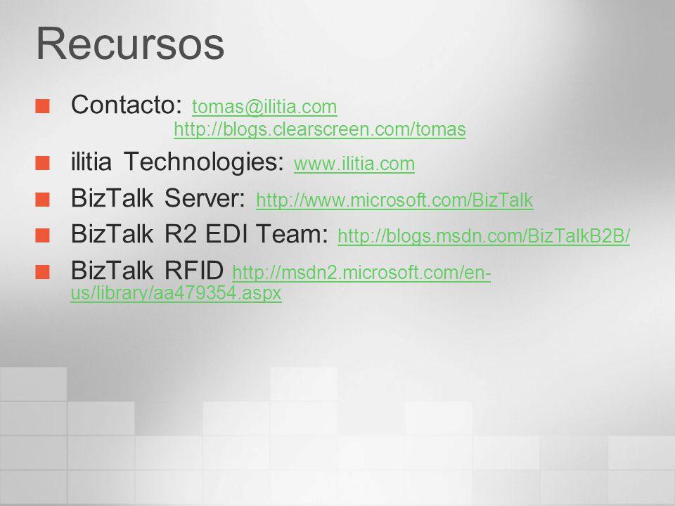 Recursos Contacto: tomas@ilitia.com http://blogs.clearscreen.com/tomas tomas@ilitia.comhttp://blogs.clearscreen.com/tomas ilitia Technologies: www.ili
