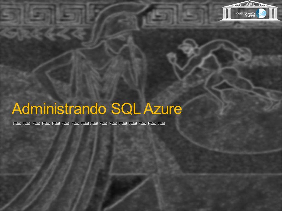 Administrando SQL Azure
