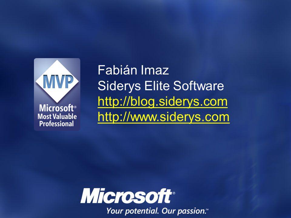 Siderys Elite Software http://blog.siderys.com http://www.siderys.com