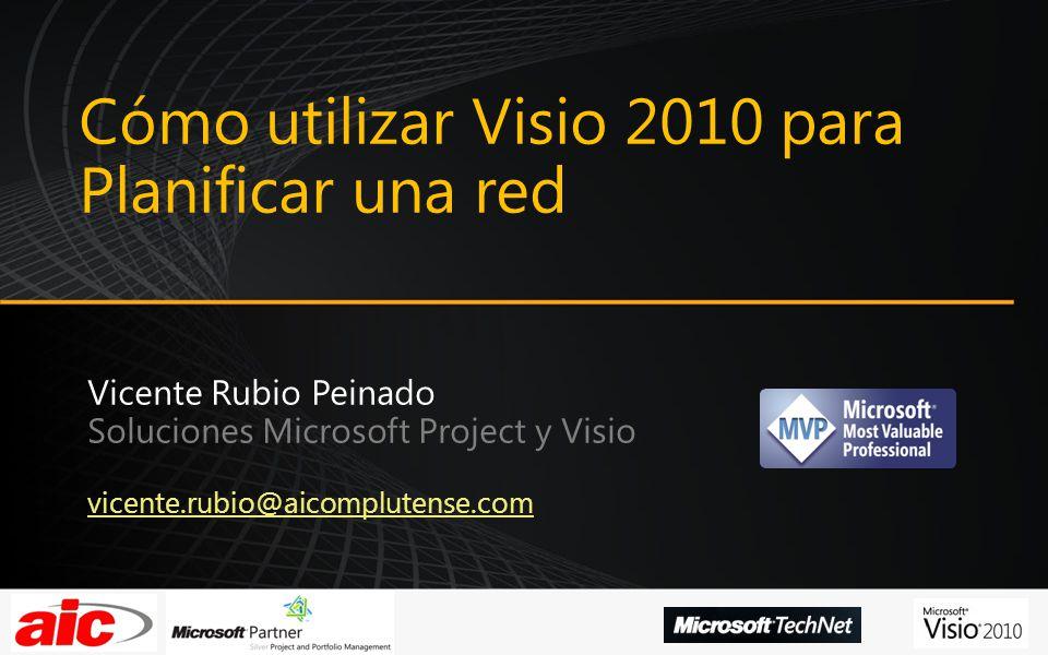 Cómo utilizar Visio 2010 para Planificar una red