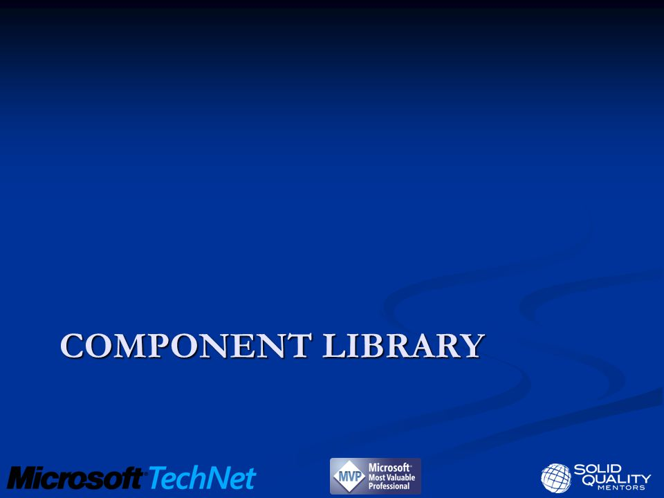 COMPONENT LIBRARY