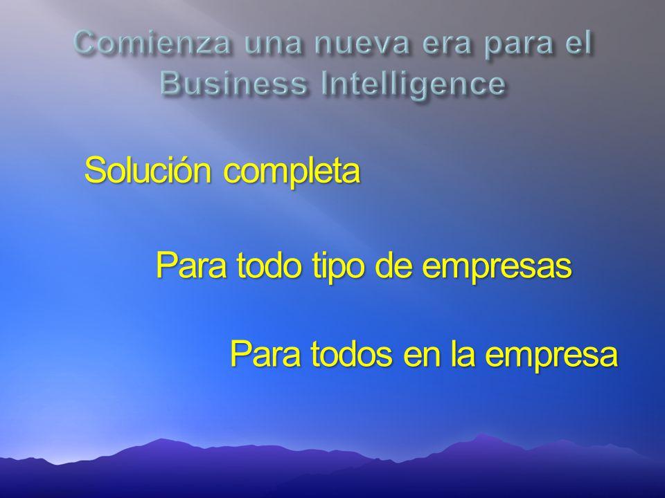 Solución completa Para todo tipo de empresas Para todos en la empresa