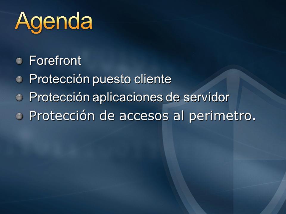 Guias Herramientas de desarrollo Gestión de Sistemas Active Directory Federation Services (ADFS) Gestión de Identidad 3 Servicios Protección de la Información Encrypting File System (EFS) BitLocker Network Access Protection (NAP) Cliente y Sistema Operativo Aplicacines de Servidor Perímetro