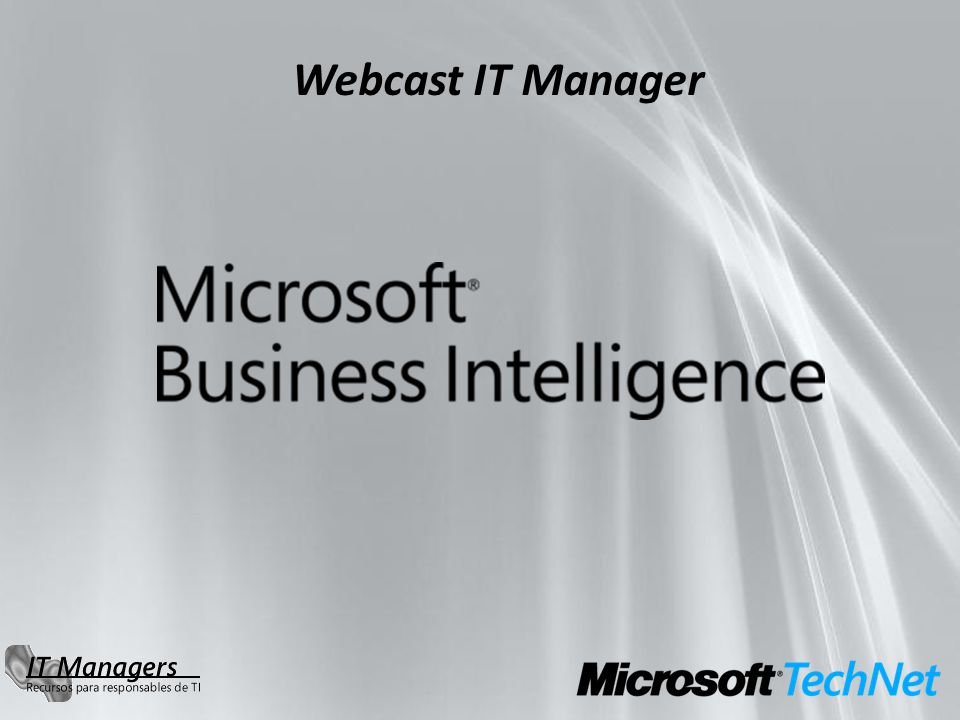 Webcast IT Manager