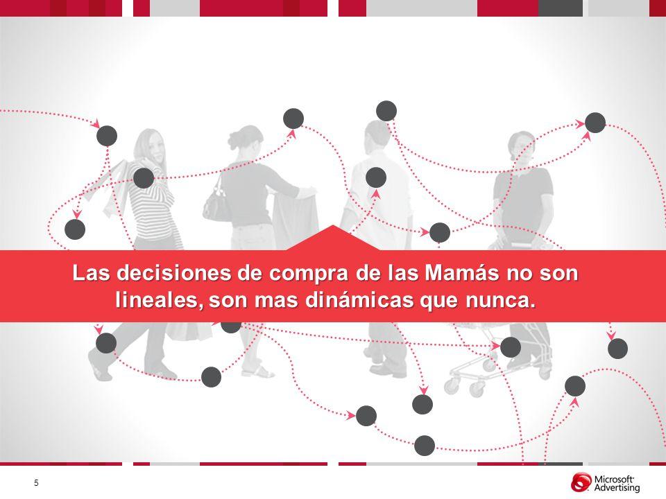 Las decisiones de compra de las Mamás no son lineales, son mas dinámicas que nunca. 5