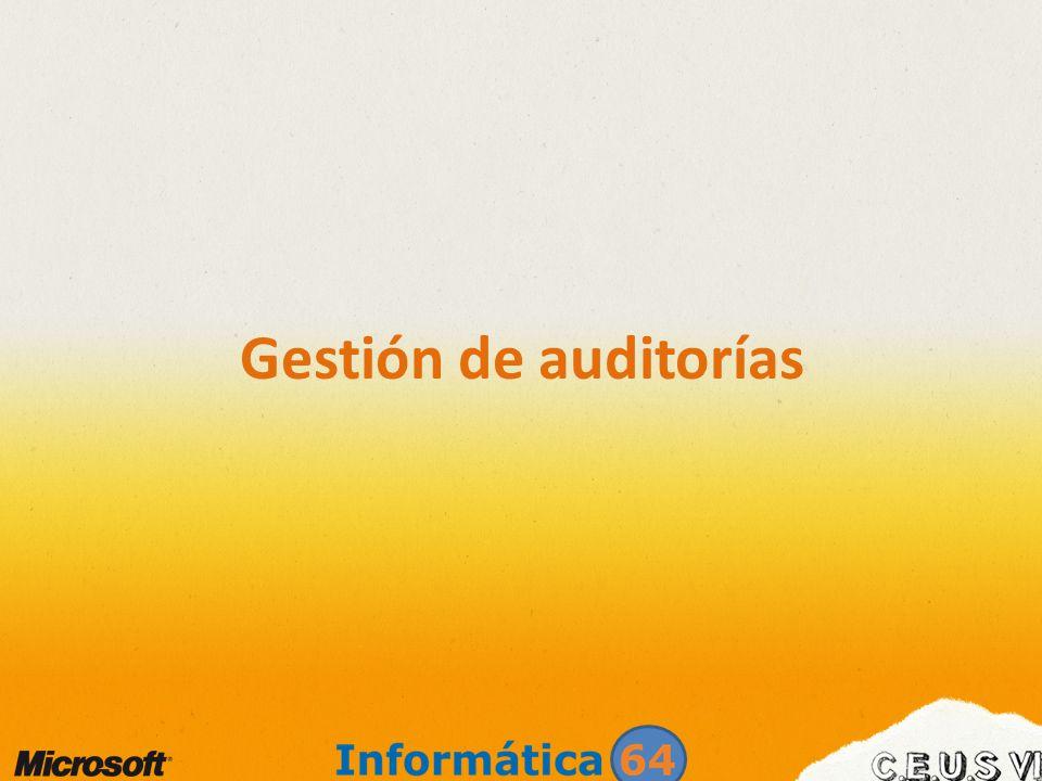 Gestión de auditorías