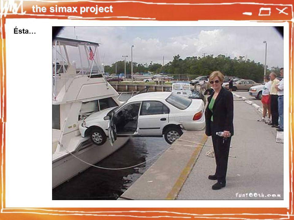 the simax project Comportamiento físico real - Más de 200 parámetros por vehículo.