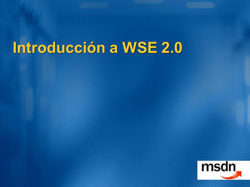 Introducción a WSE 2.0