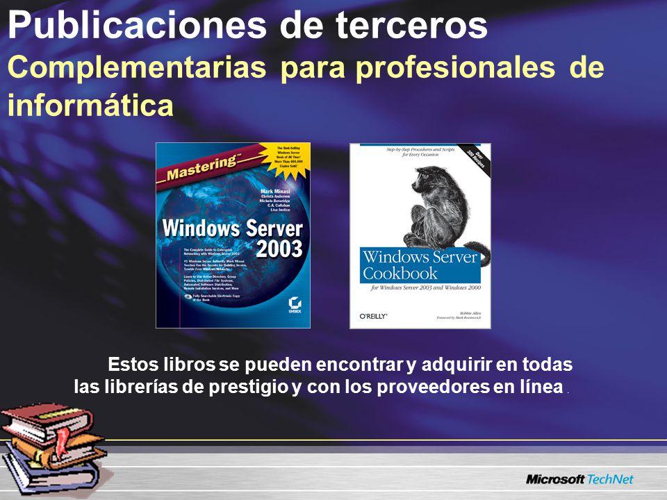 Estos libros se pueden encontrar y adquirir en todas las librerías de prestigio y con los proveedores en línea.