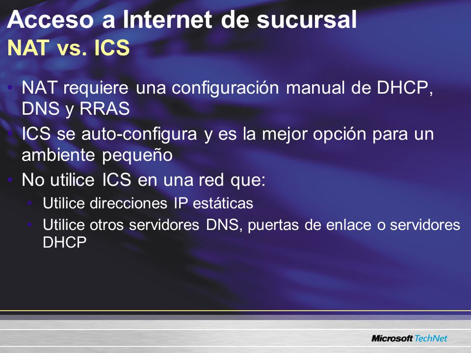 Asegurar comunicaciones de servidor Métodos de autenticación IPSec Kerberos (predeterminado) –Funciona para PCs que son miembros de un dominio confiable de Active Directory Basada en certificados –Funciona para PCs que tienen certificados de una autoridad de certificación seleccionada Clave Precompartida –No se recomienda debido a que es el menos seguro de los tres métodos