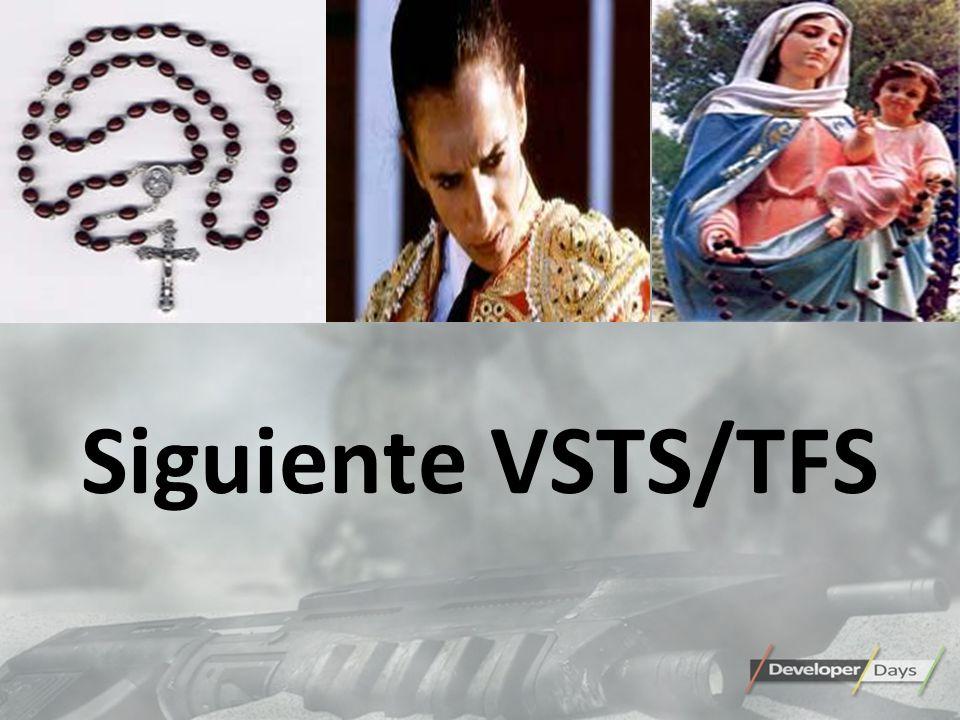 Siguiente VSTS/TFS