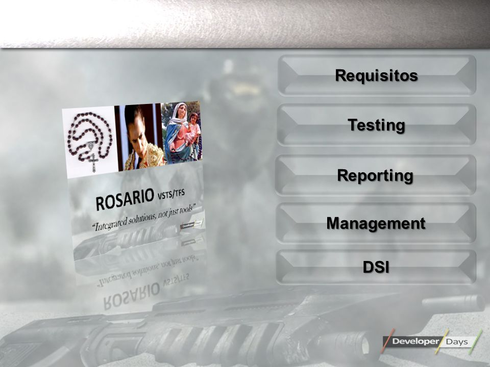 TestingTesting ReportingReporting ManagementManagement RequisitosRequisitos DSIDSI
