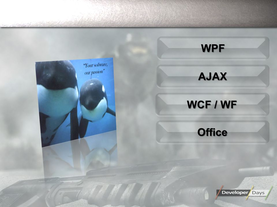 AJAXAJAX OfficeOffice WPFWPF