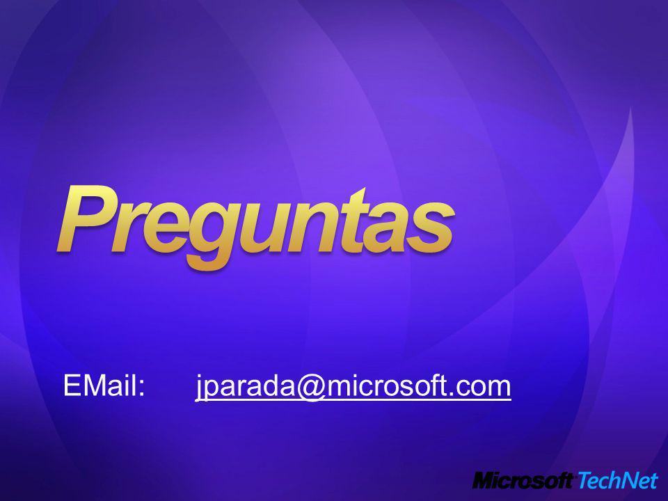 EMail:jparada@microsoft.com