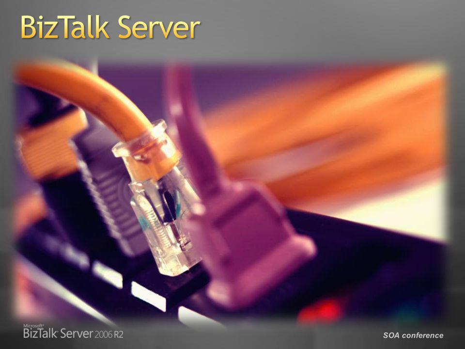 SOA conference Aplicación Interactiva (Web, SmartClient, SharePoint) Servicios internos Embebido, baja latencia Servicios externos Librerías de actividades OfflineOffline Actividad personaliza da