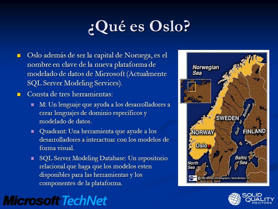 ¿Qué es Oslo.
