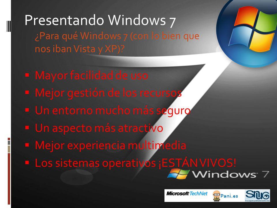 Antes de Windows 7 Pani.es