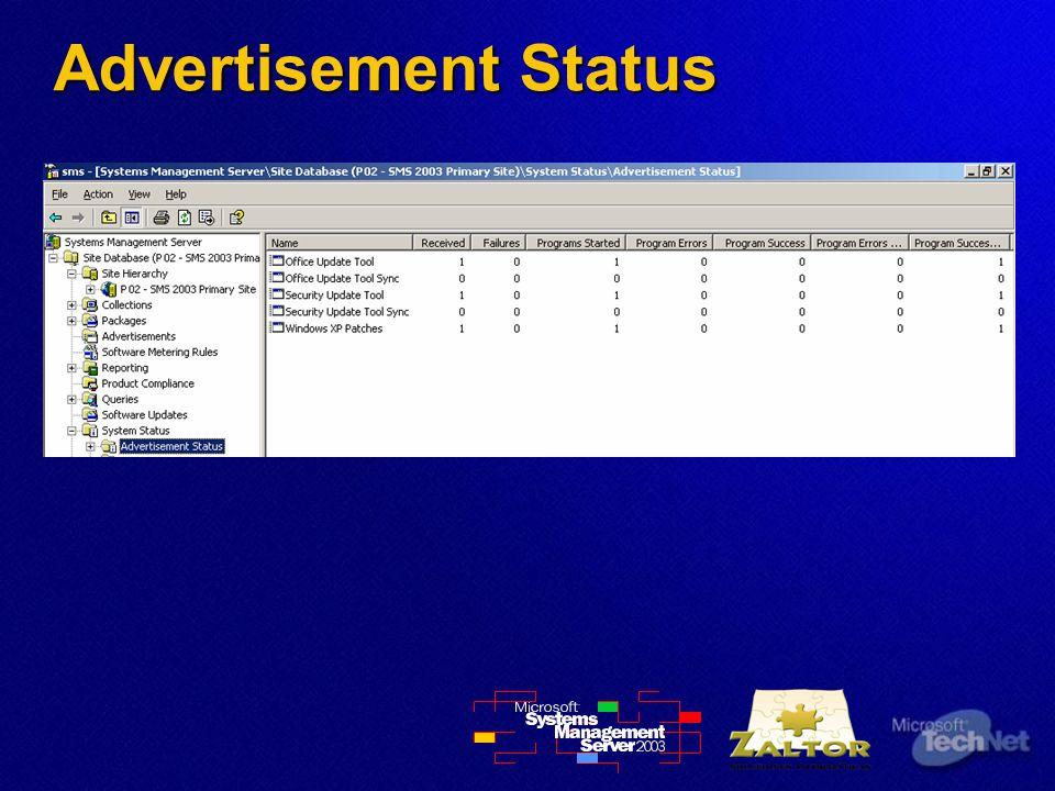 Advertisement Status