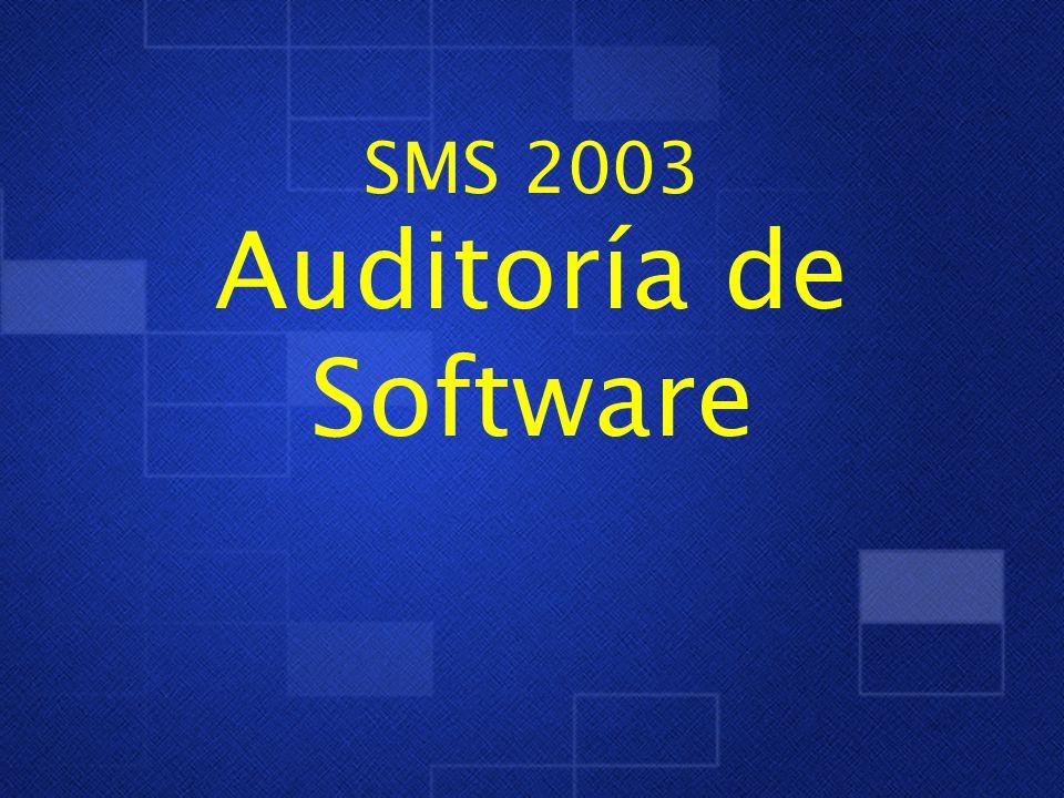 SMS 2003 Auditoría de Software