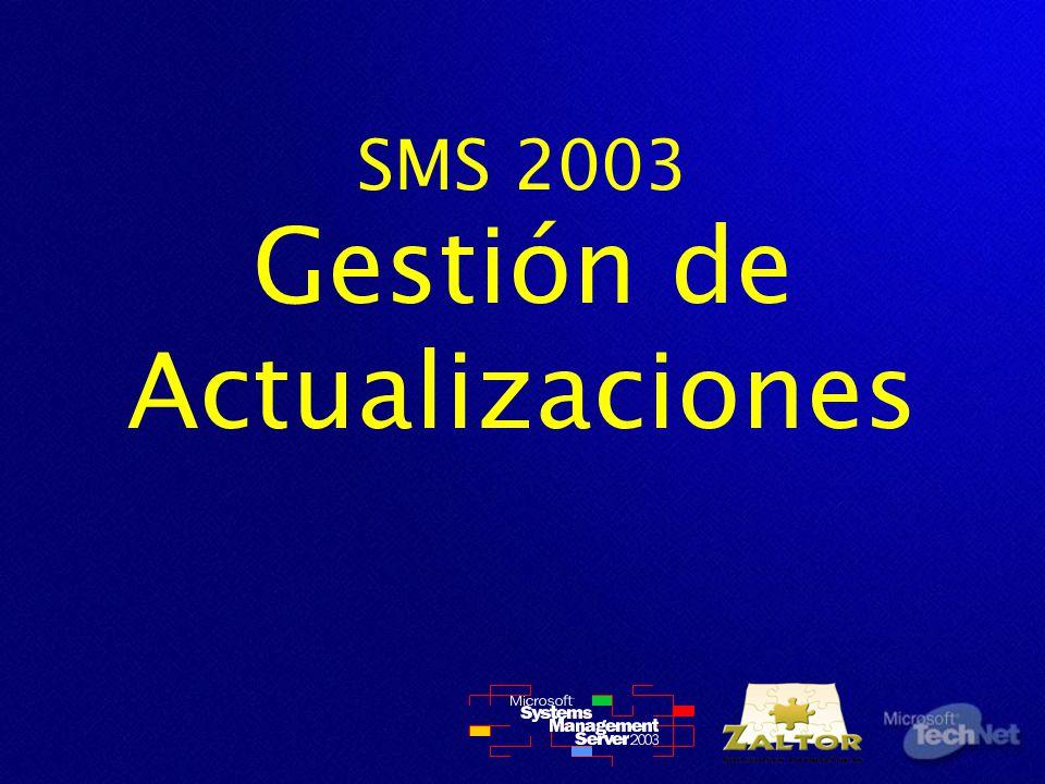 SMS 2003 Gestión de Actualizaciones