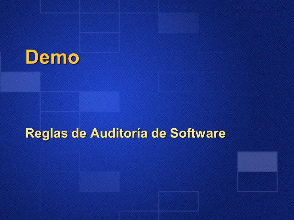 Demo Reglas de Auditoría de Software